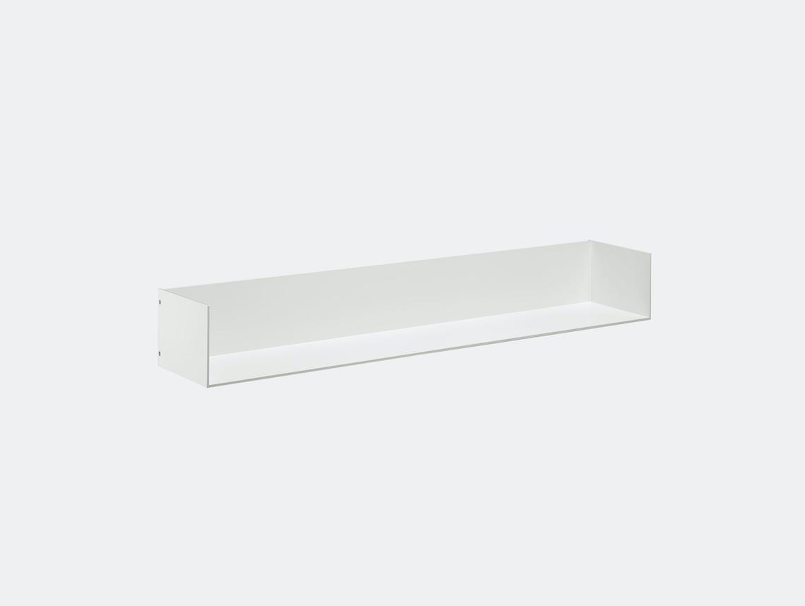 E15 Profil Shelf W Ends White 100 Jorg Schellmann