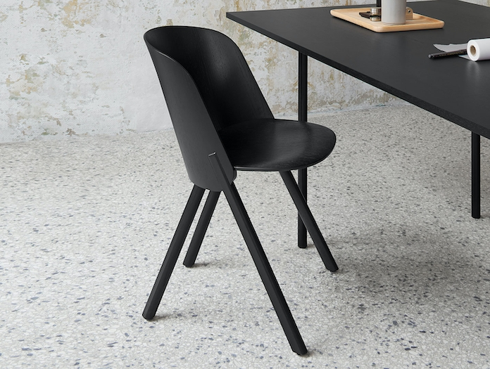E15 This Chair Jet Black