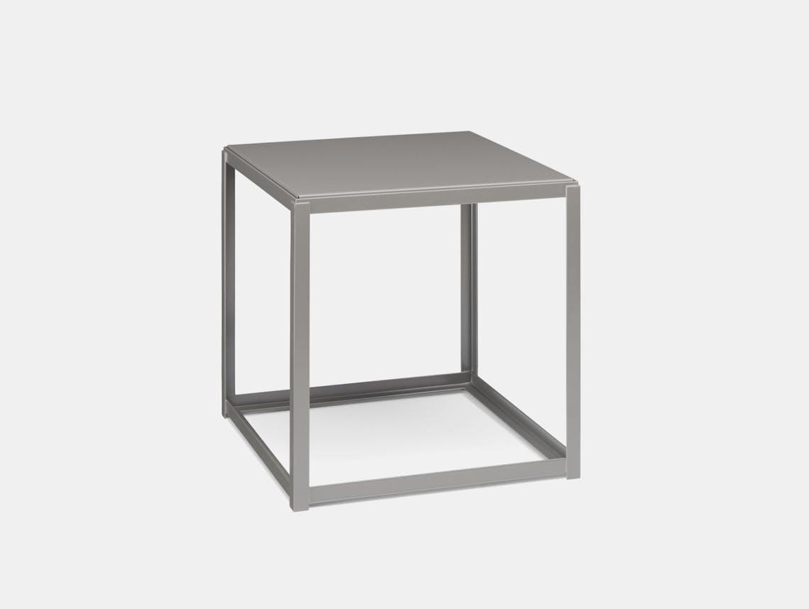 E15 Forty Forty Side Table Traffic Grey Ferdinand Kramer