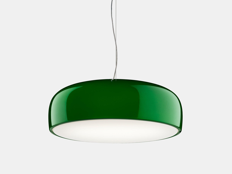 Flos smithfield pendant light glossy green 2