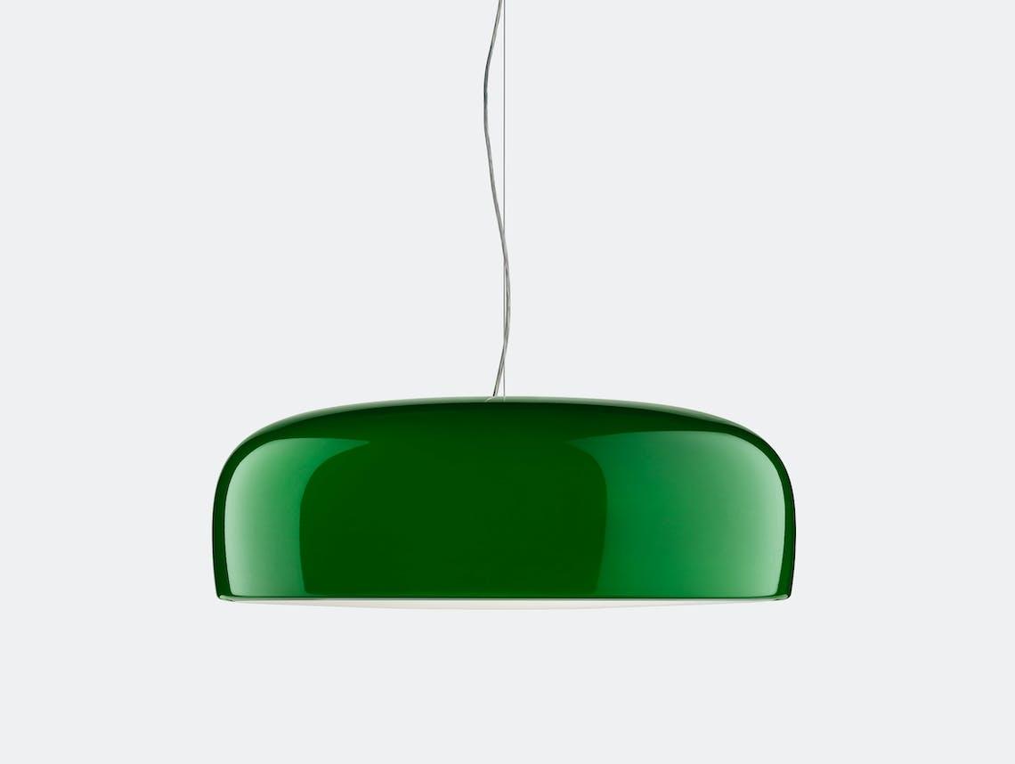 Flos smithfield pendant light glossy green