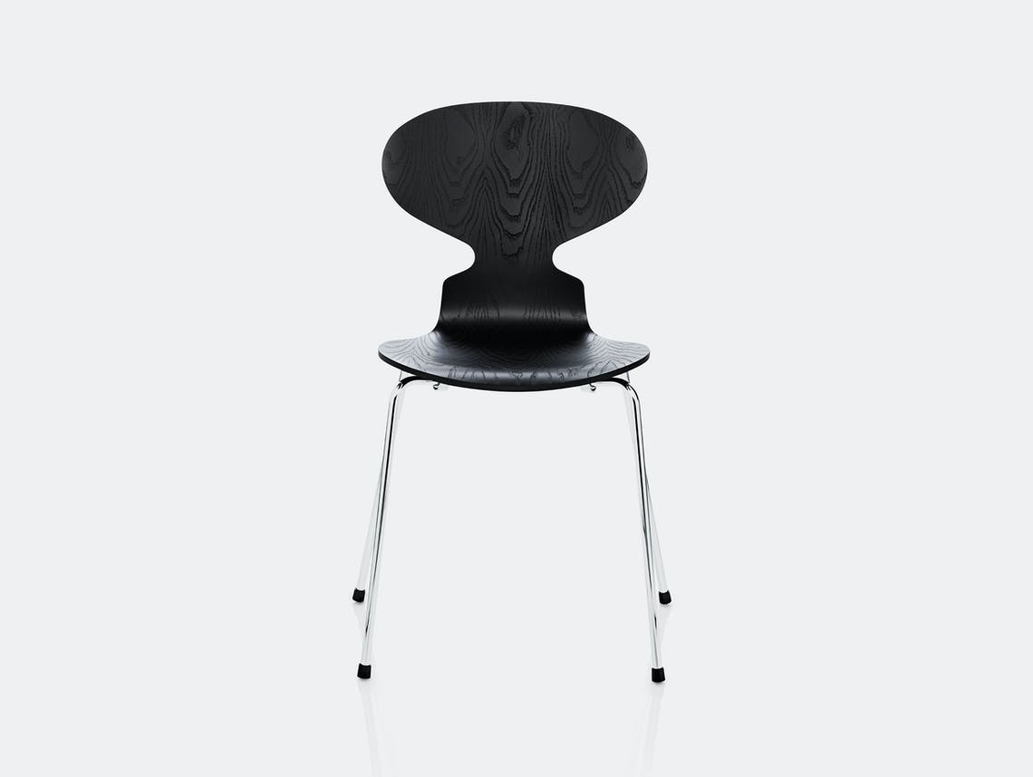 Fritz Hansen Ant Chair Black Ash