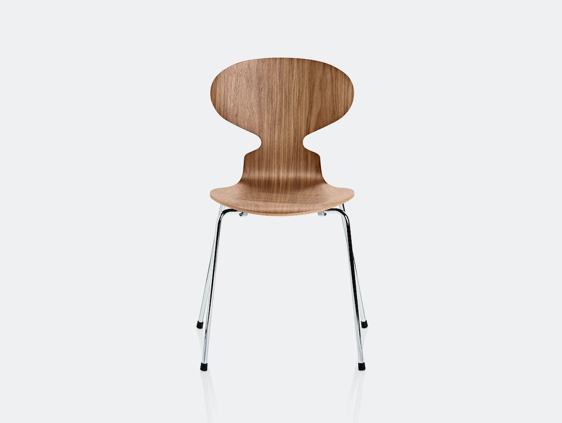 Fritz Hansen Ant Chair Walnut
