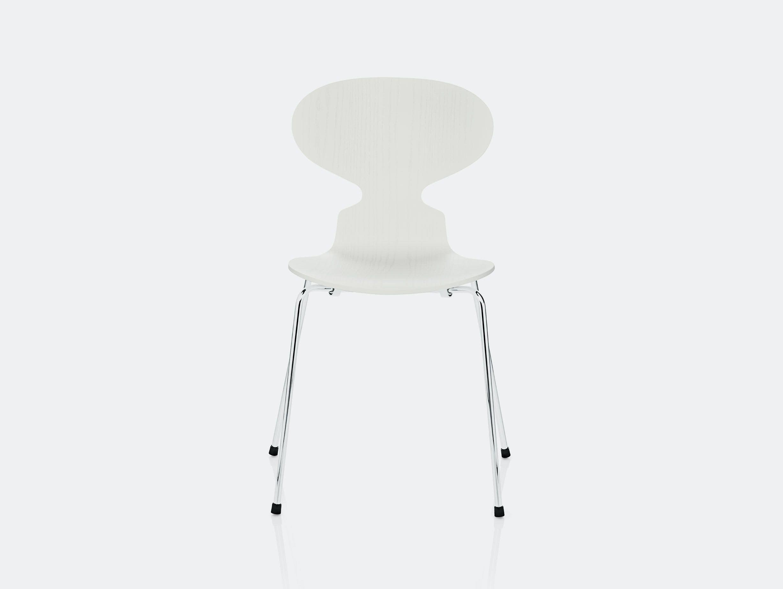 Fritz Hansen Ant Chair White Ash