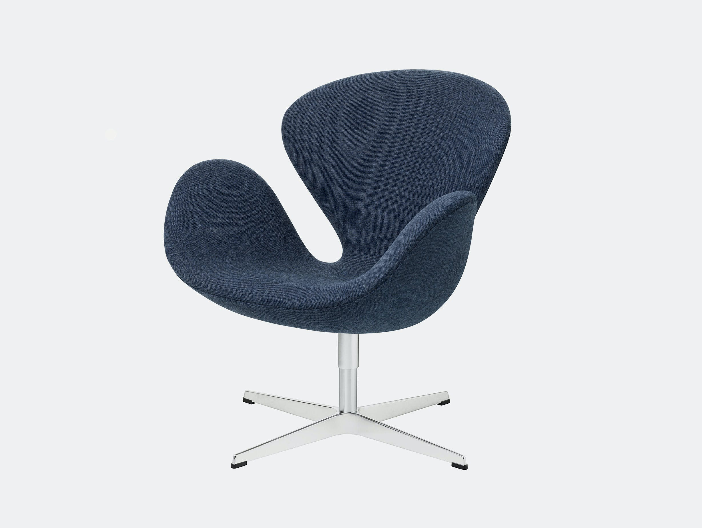 Fritz Hansen Swan Lounge Chair Blue