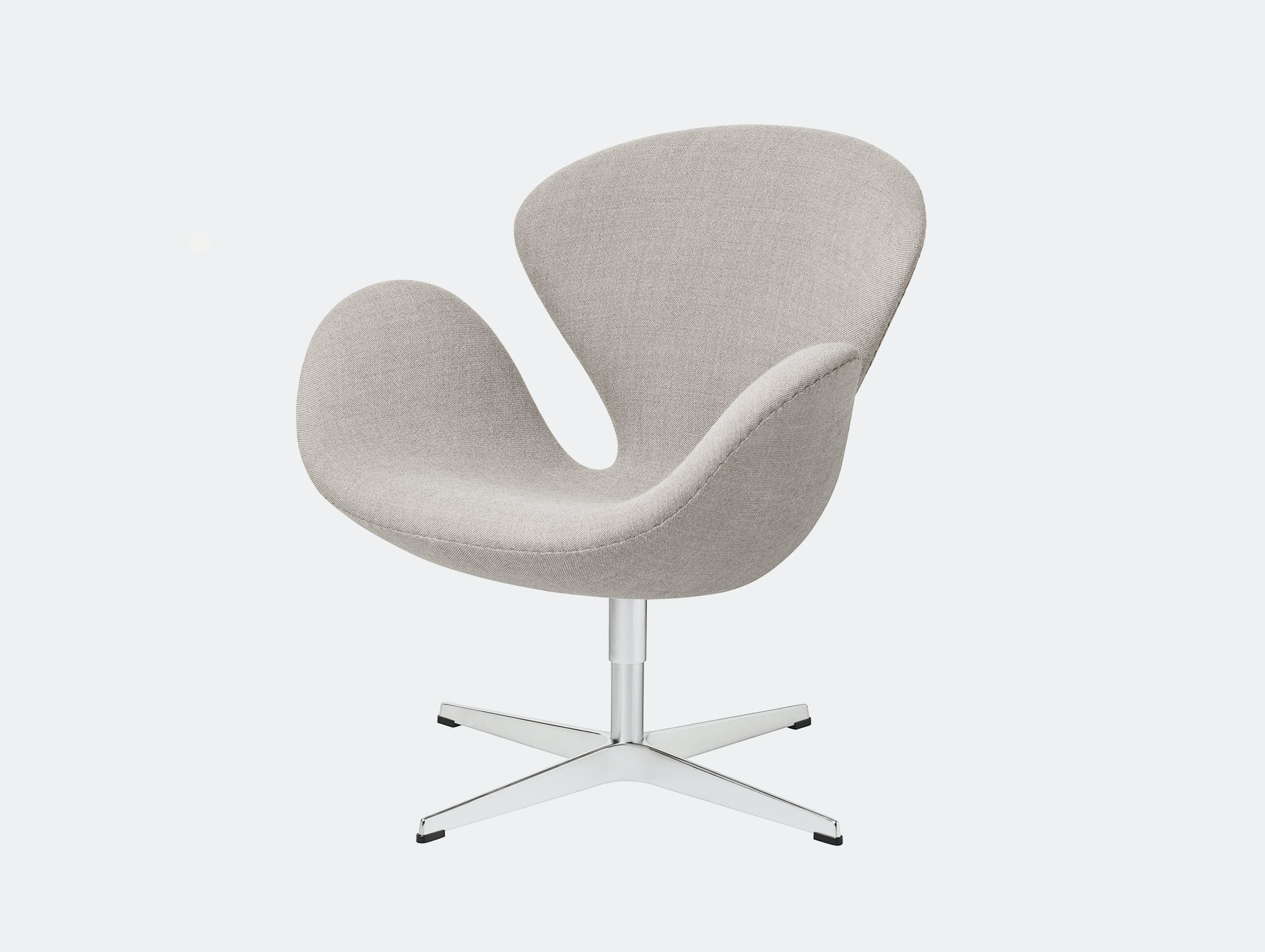 Fritz Hansen Swan Lounge Chair Light Grey