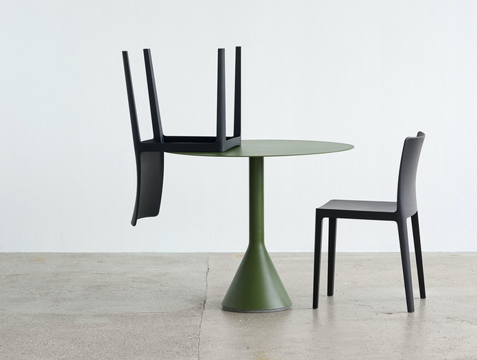 Hay Cone Table Elementaire Chair