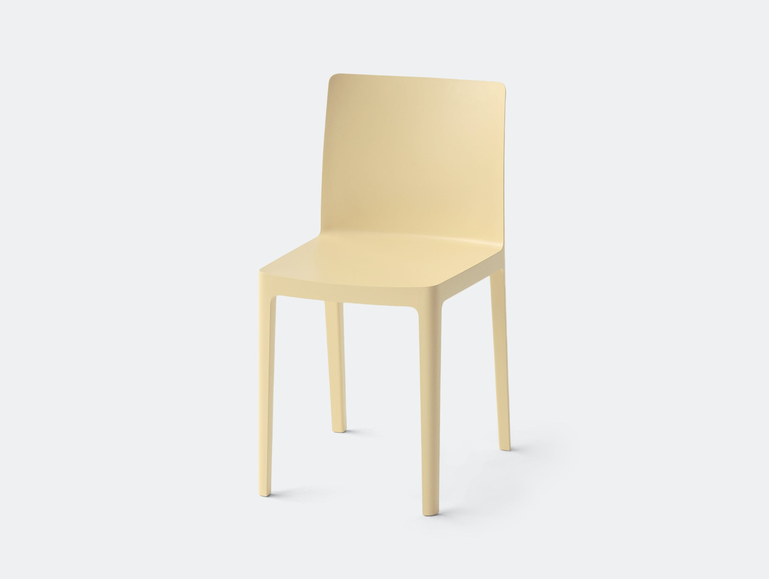 Hay Elementaire Chair Light Yellow