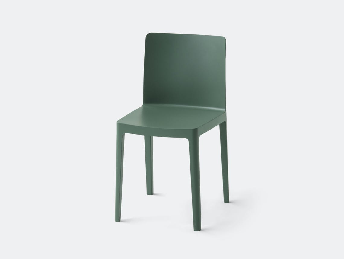 Hay Elementaire Chair Smoky Green
