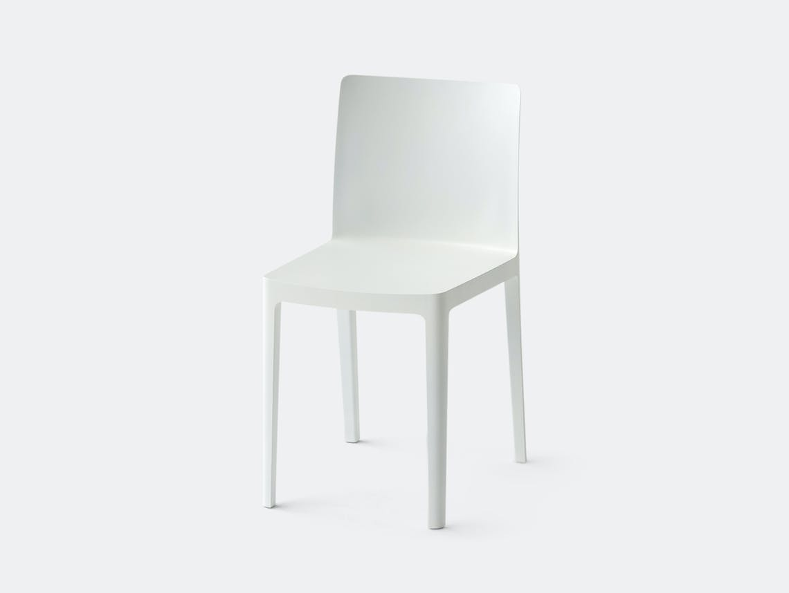 Hay Elemntaire Chair Cream White