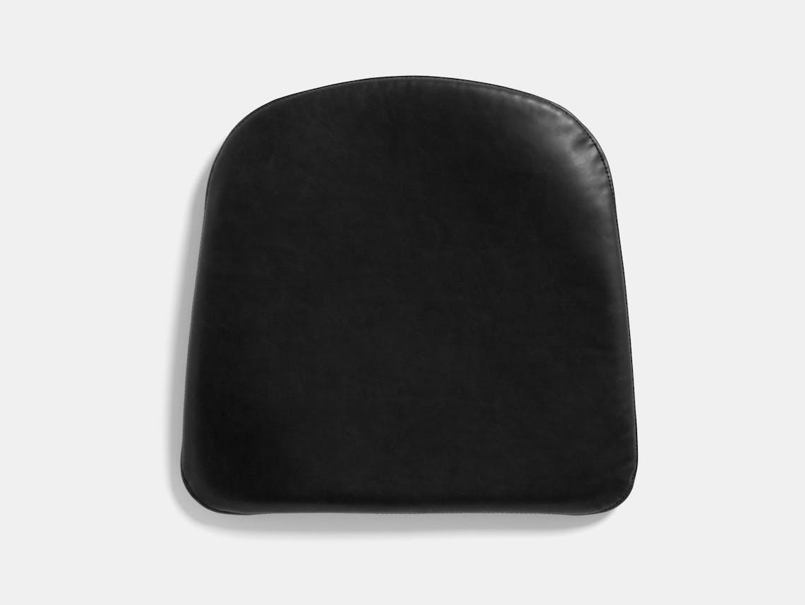 Hay j42 seat cushion black leather
