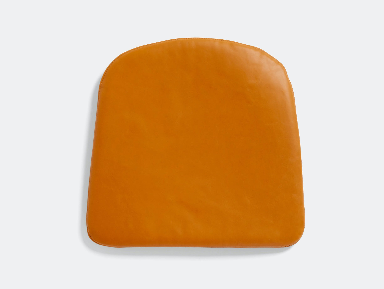 Hay j42 seat cushion cognac brown leather