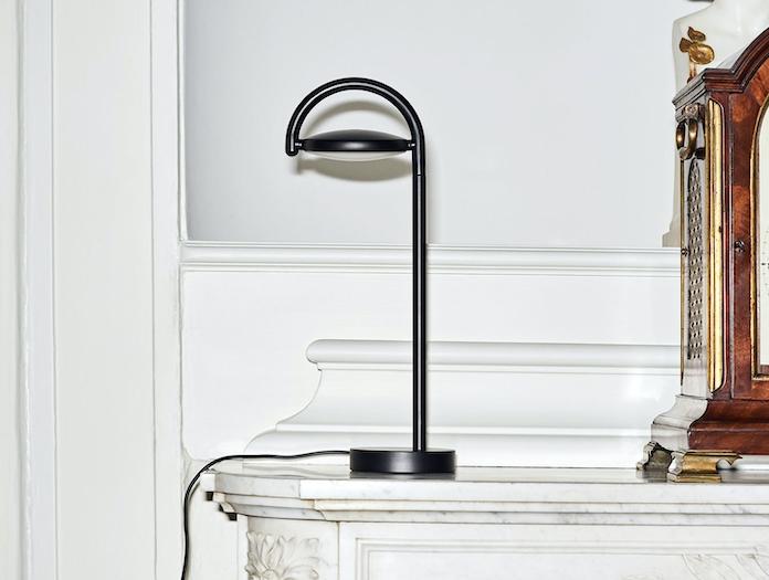 Hay Marselis Table Lamp Black In Situ