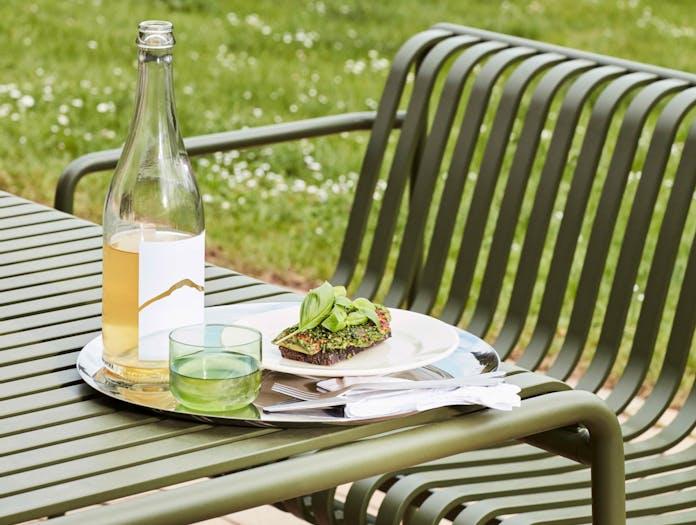 Hay palissade dining bench ls 1