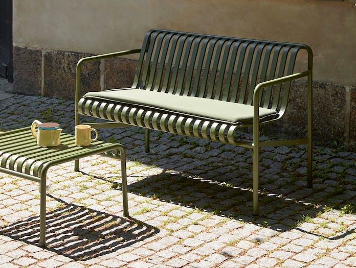 Hay palissade dining bench ls 2