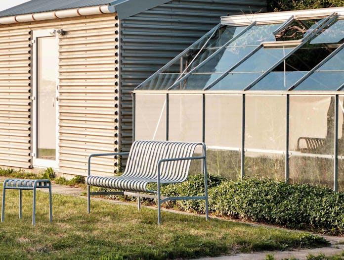 Hay palissade dining bench ls 3