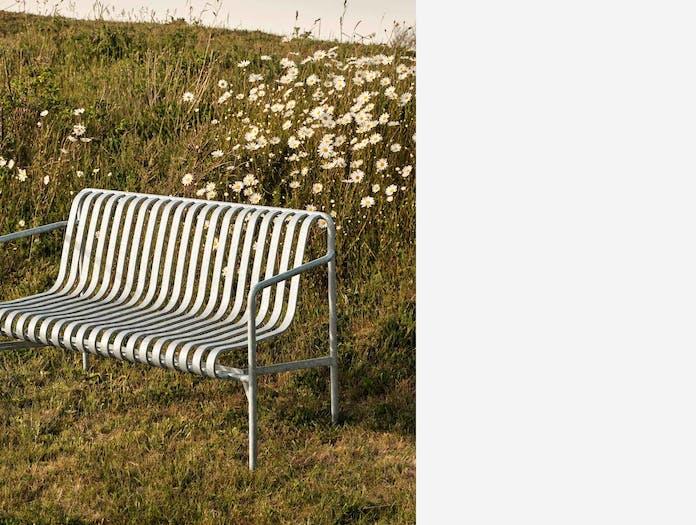 Hay palissade dining bench ls 4