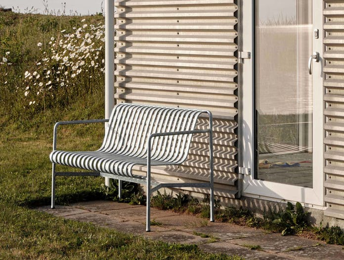 Hay palissade dining bench ls 5