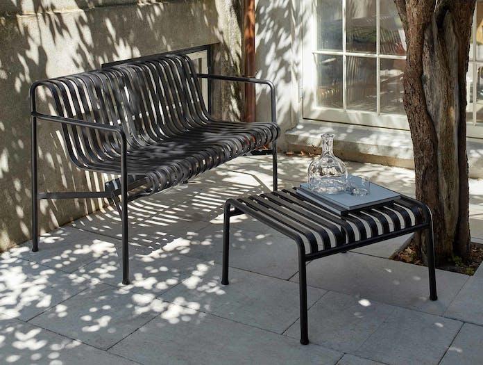 Hay palissade dining bench ls 7