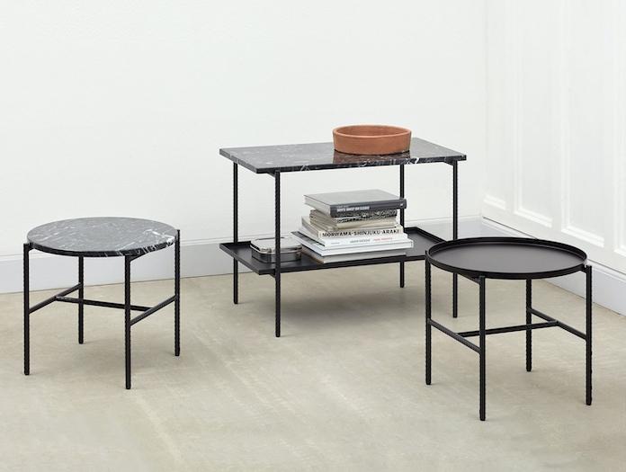 Hay Rebar Coffee Side Tables