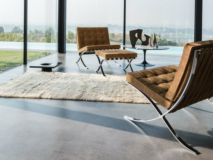 Knoll Barcelona Chair Leather