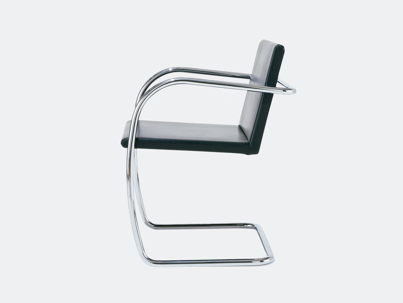 Knoll Brno Chair Black Tubular