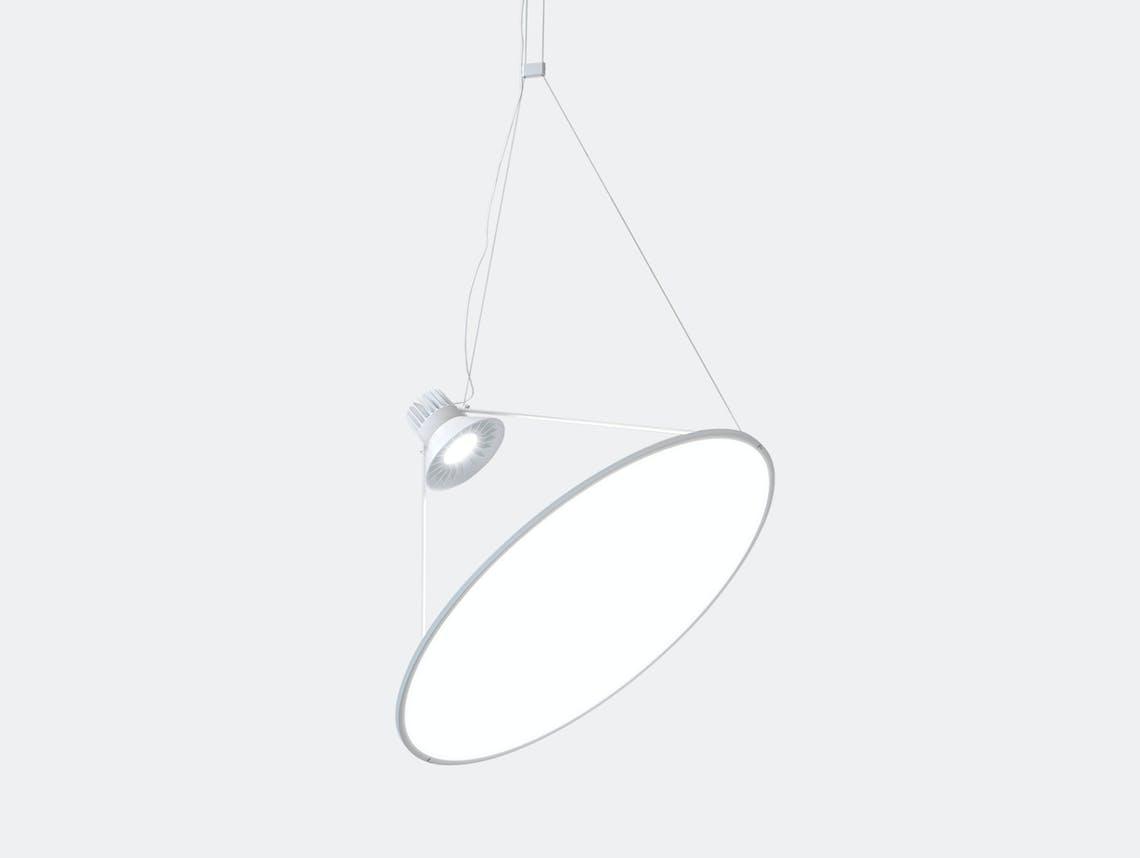 Luceplan Amisol Suspension Light White