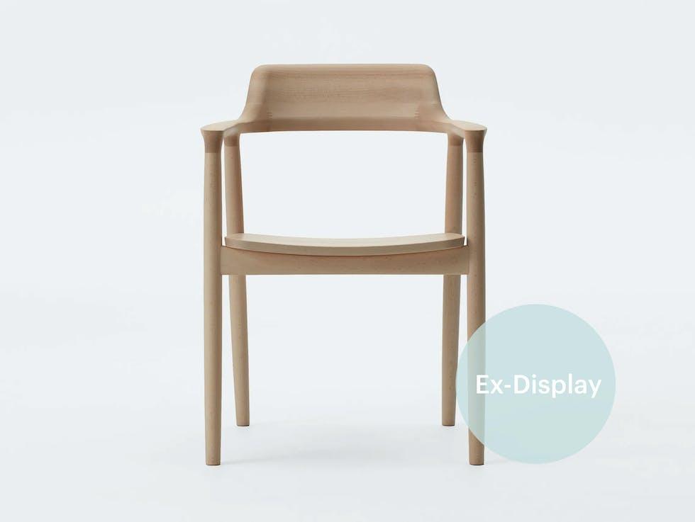 SOLD - Hiroshima Armchair, beech / 20% off at £727 image