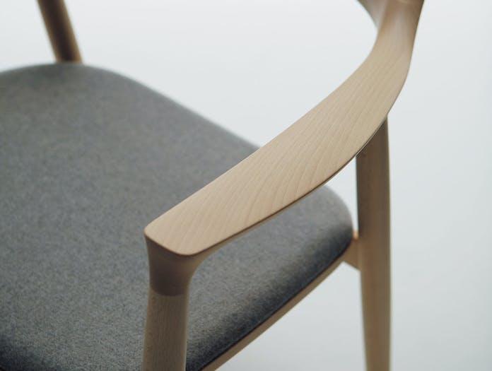 Maruni Hiroshima Lounge Chair Arm Detail Naoto Fukasawa