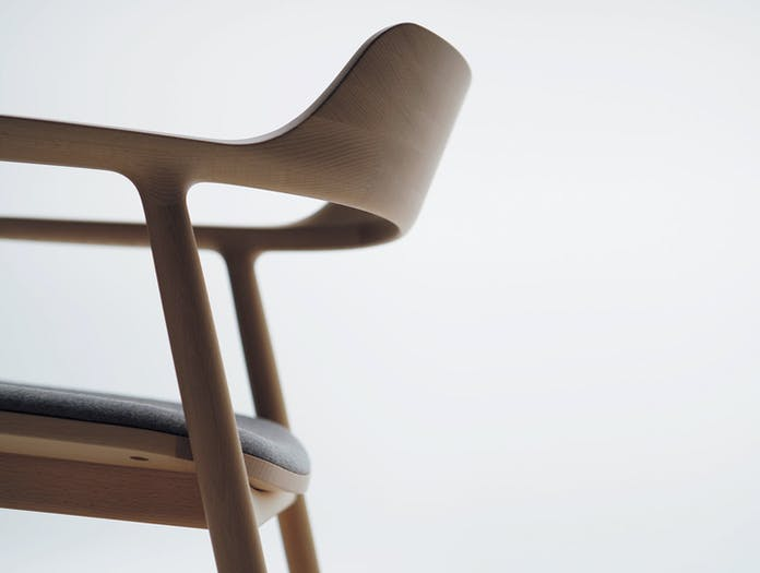 Maruni Hiroshima Lounge Chair Detail Naoto Fukasawa