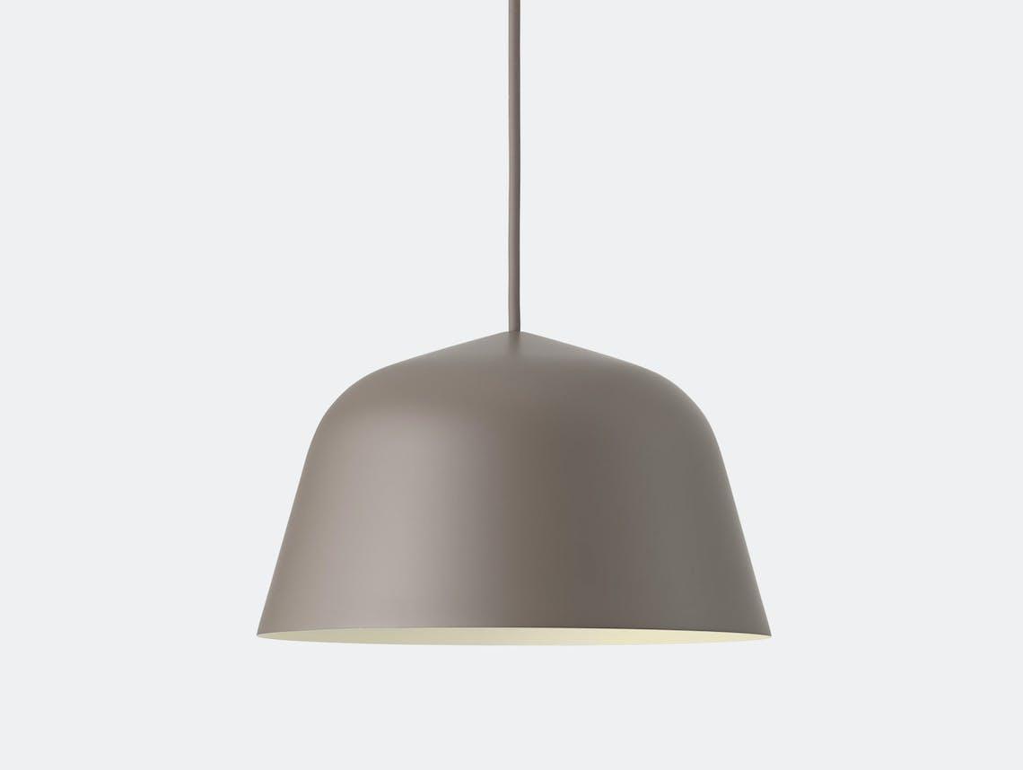 Muuto Ambit Pendant Lamp Taupe Taf Studio