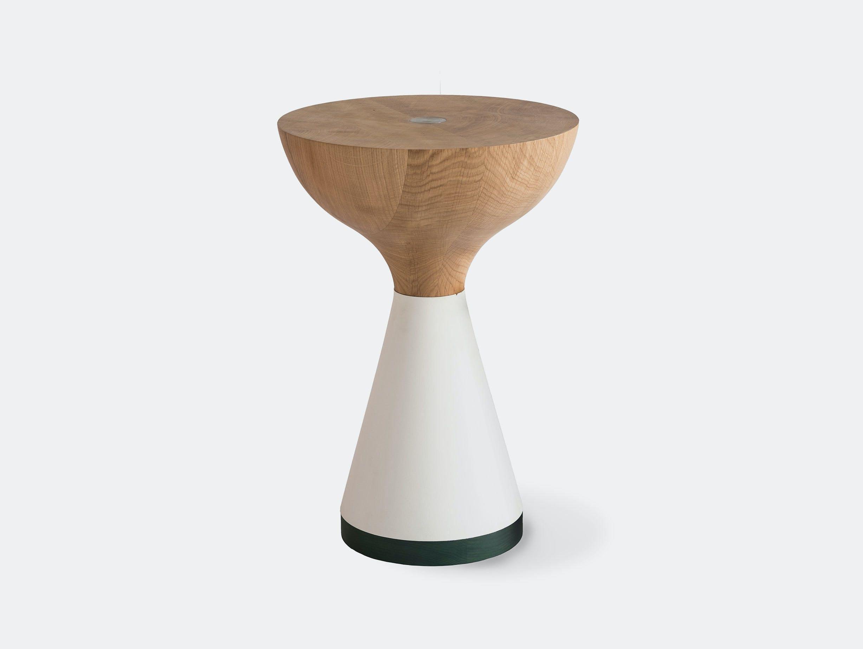 Pinch Float Table White Fern
