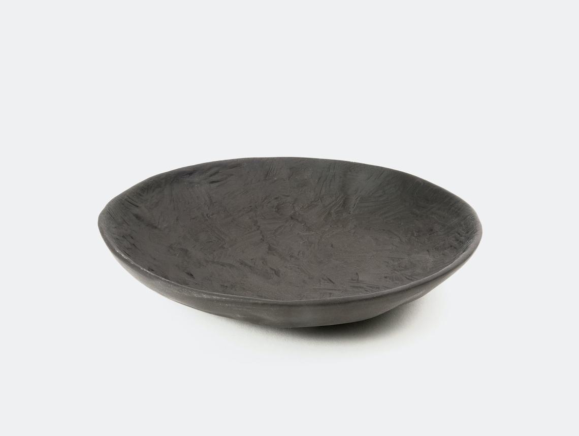 1882 Ltd Crockery Black Platter medium Max Lamb