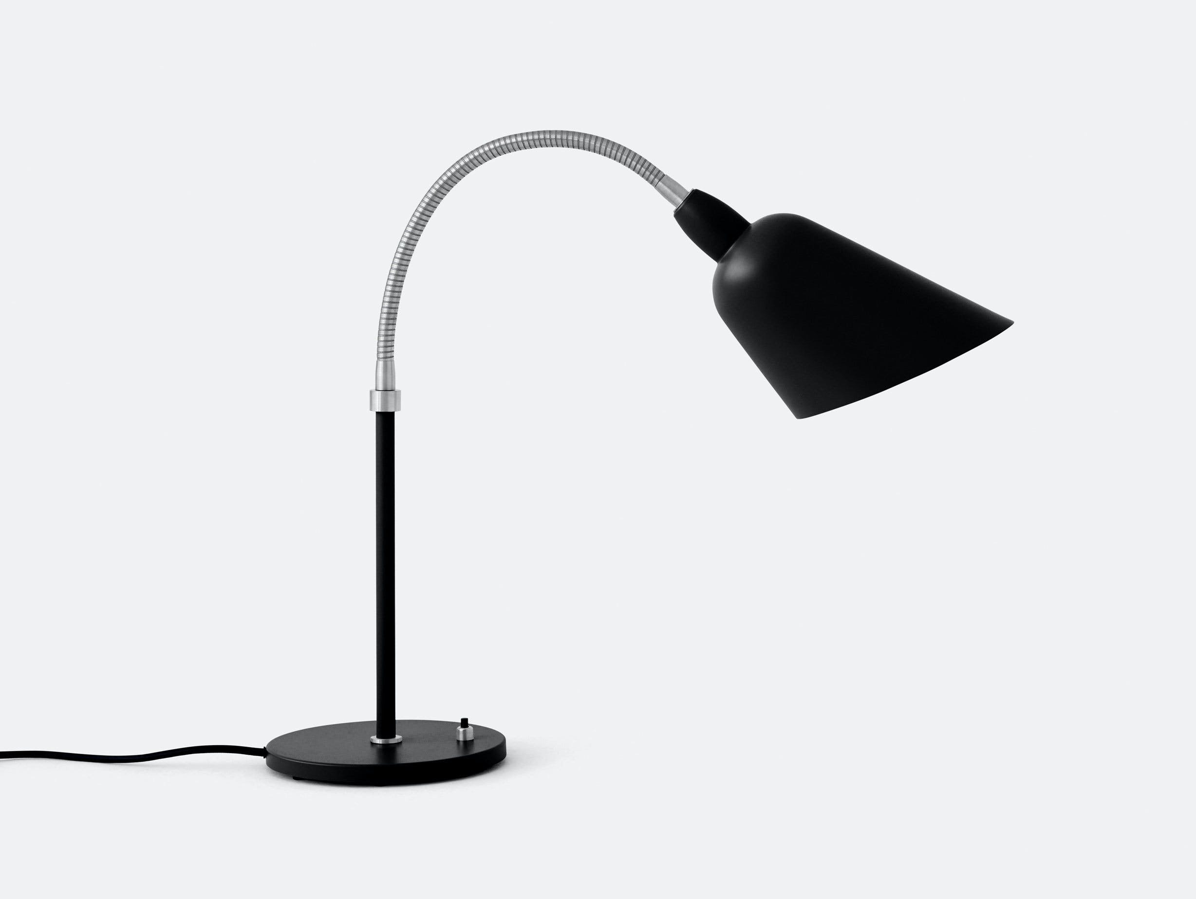 And Tradition Bellevue table lamp AJ8 black steel Arne Jacobsen