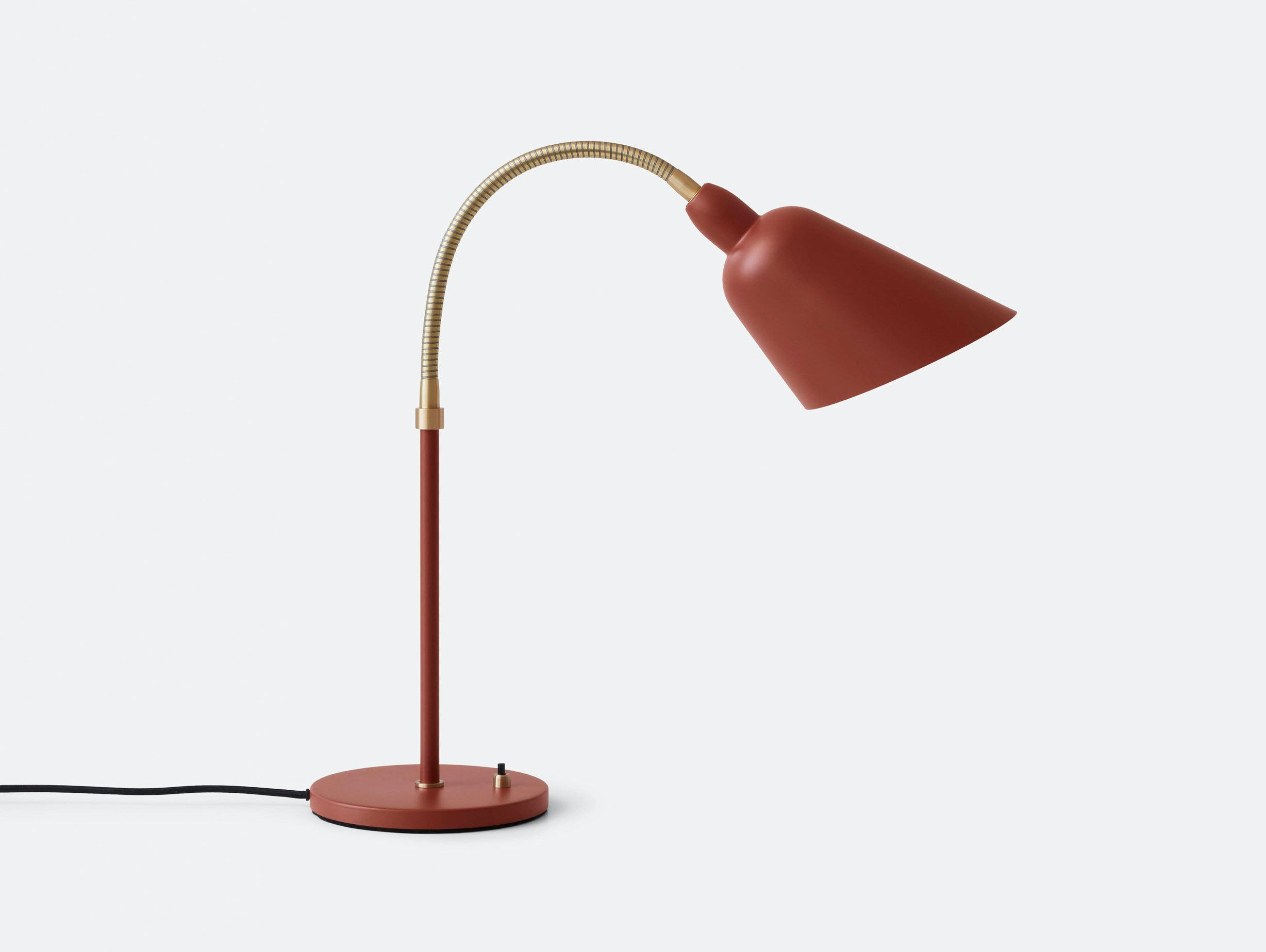 And Tradition Bellevue table lamp AJ8 copper brown Arne Jacobsen