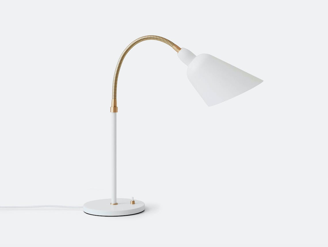 And Tradition Bellevue table lamp AJ8 white Arne Jacobsen