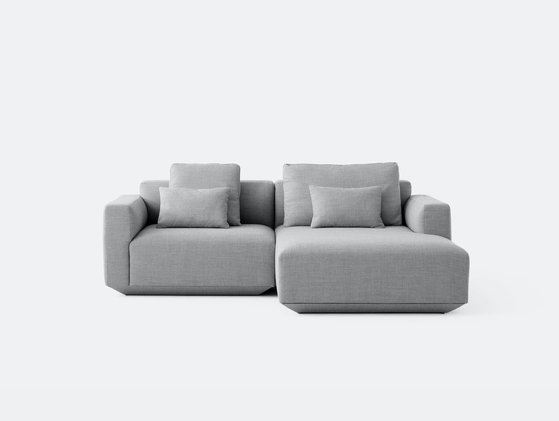 And Tradition Develius Sofa Fiord 151 fabric Configuration B Edward van Vliet