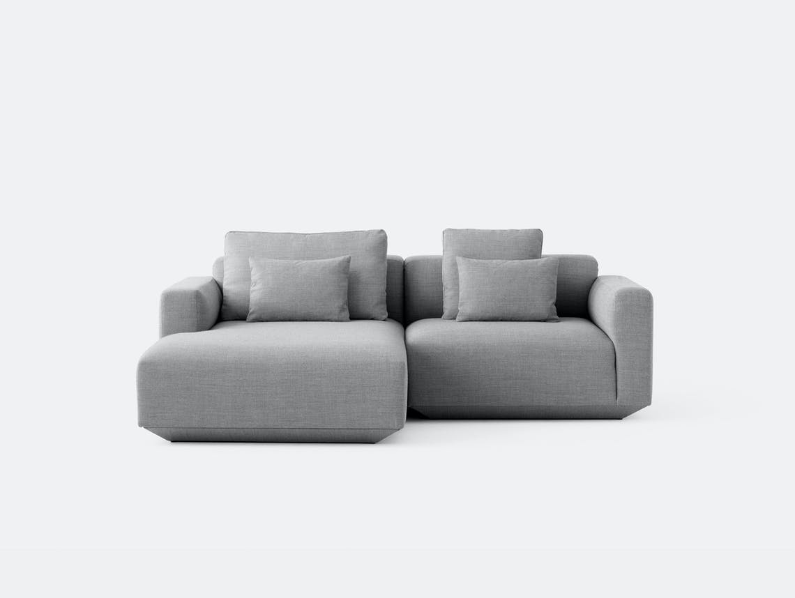 And Tradition Develius Sofa Fiord 151 fabric Configuration C Edward van Vliet