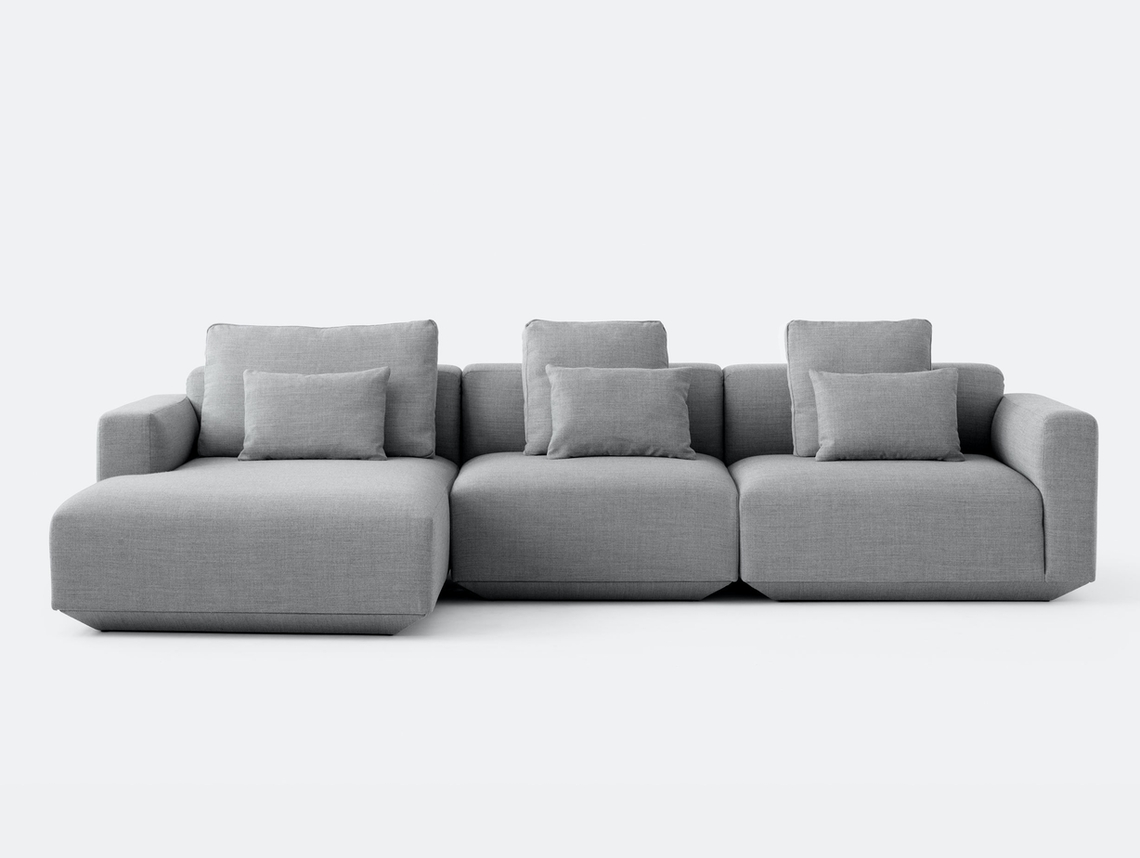 And Tradition Develius Sofa Fiord 151 fabric Configuration E Edward van Vliet