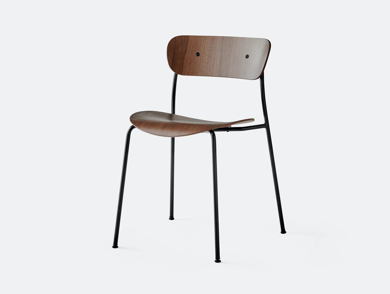 And Tradition Pavilion AV1 Chair walnut Anderssen Voll