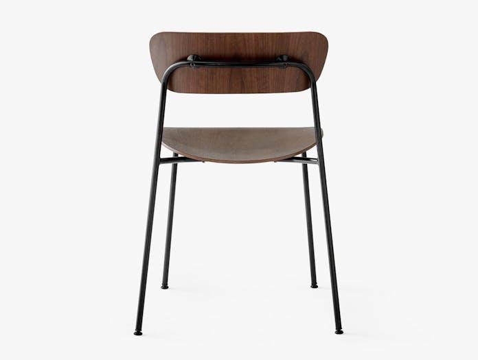 And Tradition Pavilion AV1 Chair walnut back Anderssen Voll