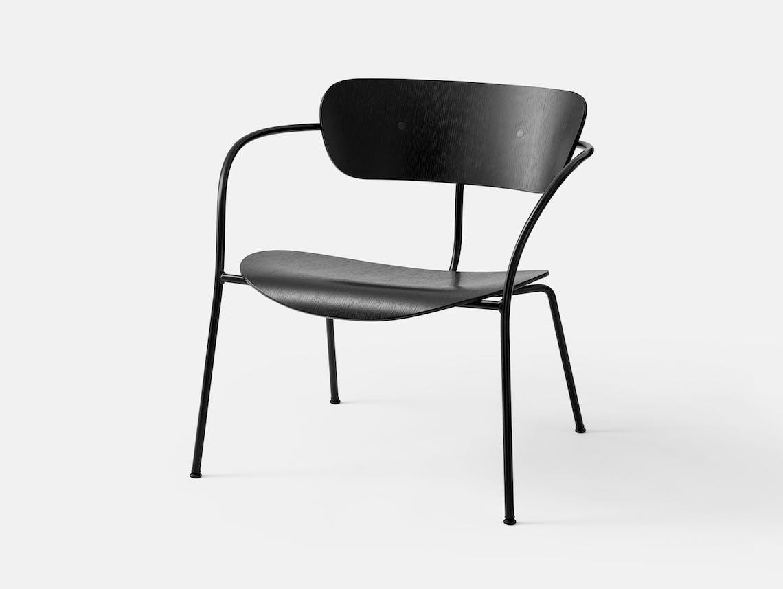 And Tradition Pavilion AV5 Lounge Chair black oak Anderssen Voll