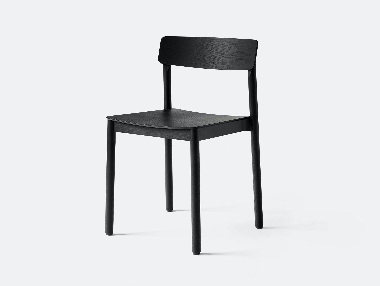 And Tradition TK2 Betty Wood Chair Black Thau Kallio