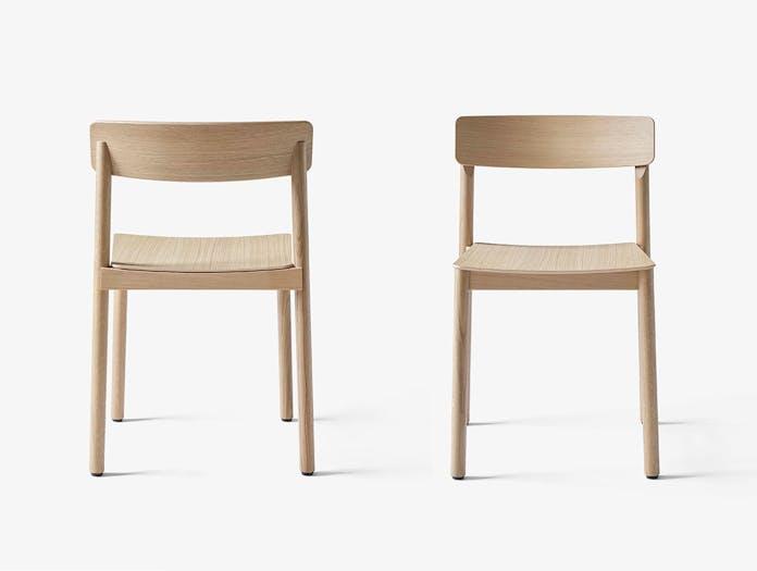 And Tradition TK2 Betty Wood Chairs Oak Thau Kallio