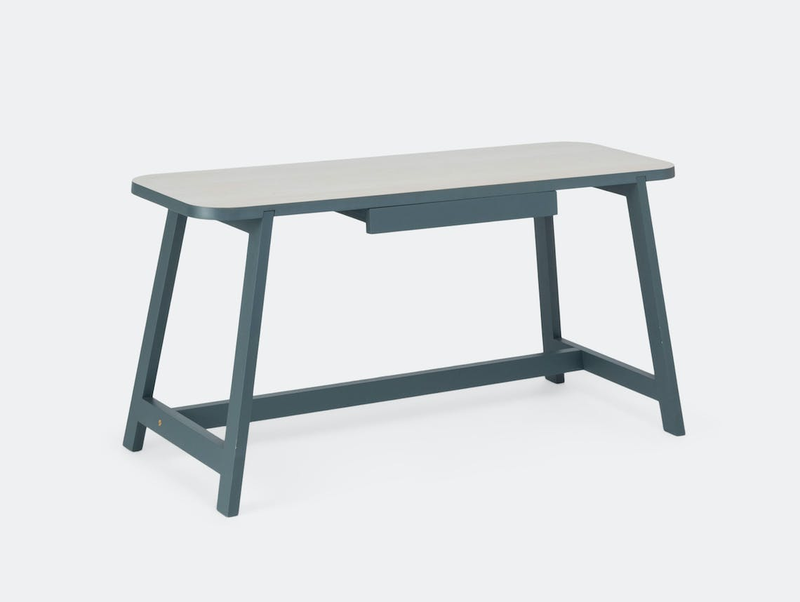 Another Country Desk Three beech grey
