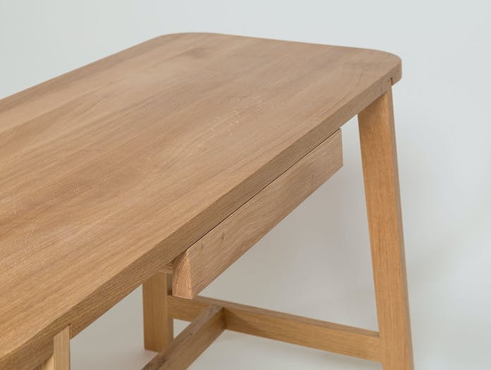 Another Country Desk Three oak 3