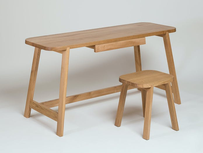 Another Country Desk Three oak 5