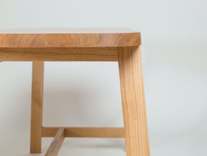 Another Country Desk Three oak detail 1