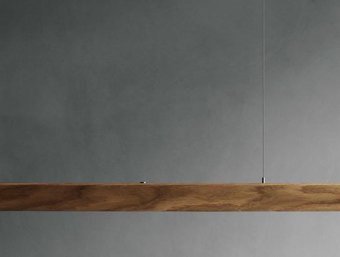 Anour I Model Wood Pendant Light oak detail 1