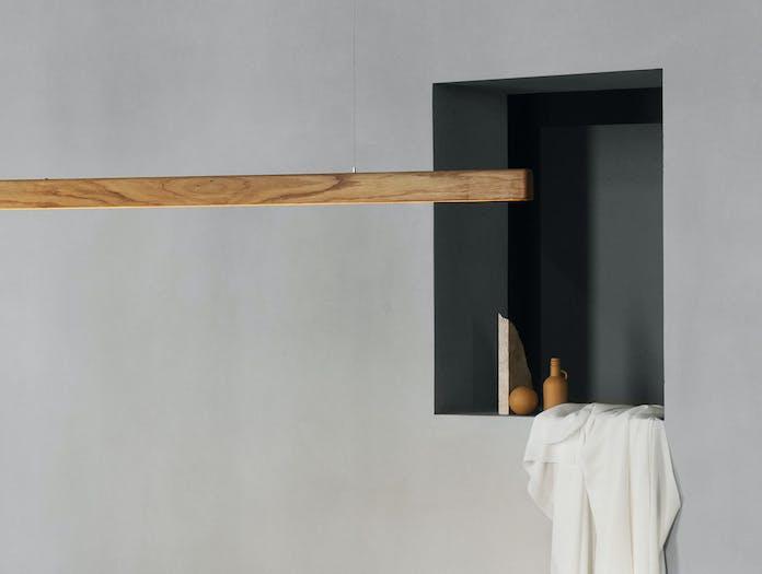 Anour I Model Wood Pendant Light oak detail 2